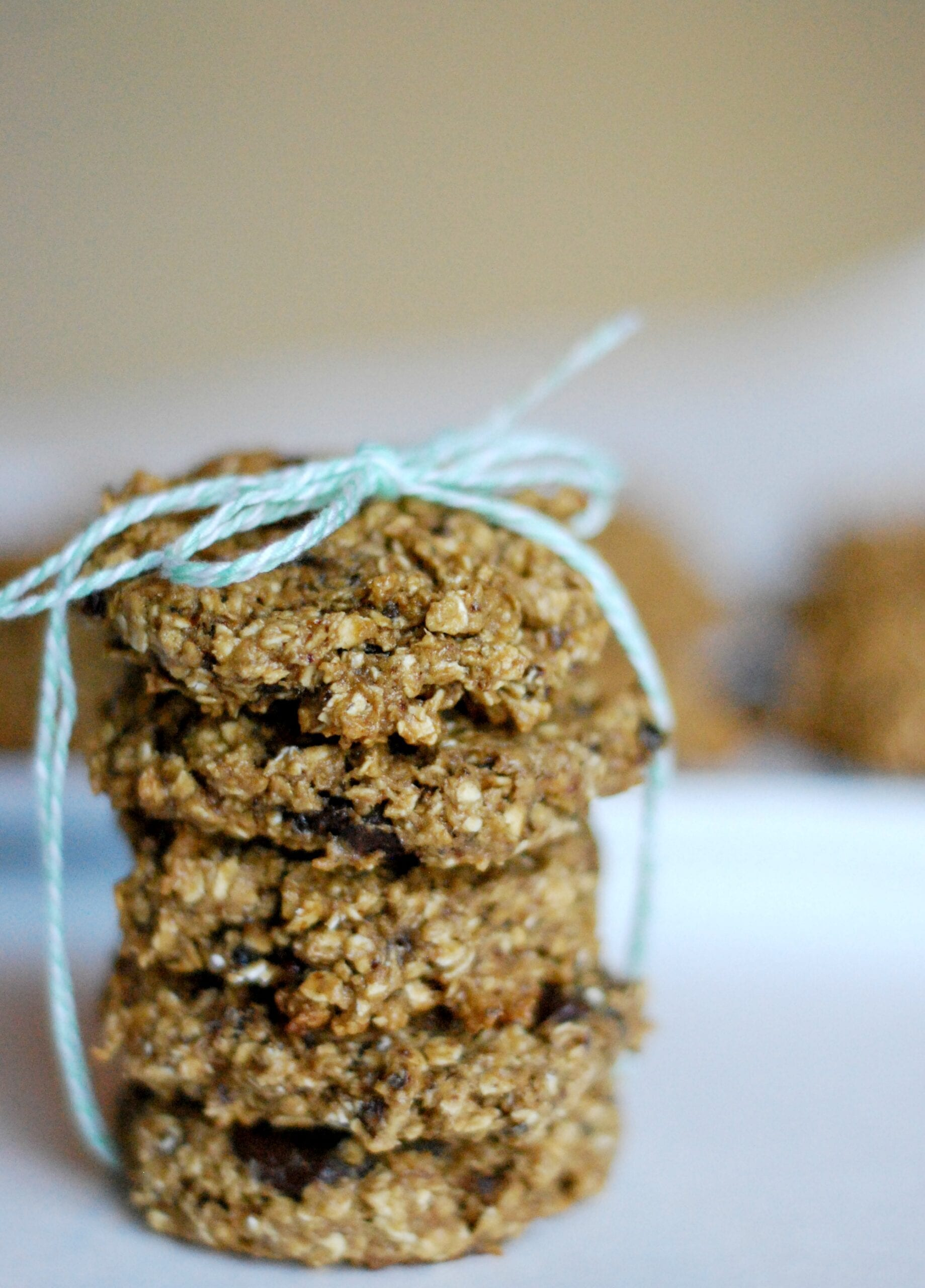 Chewy Oatmeal Chocolate Chip & Prune Cookies