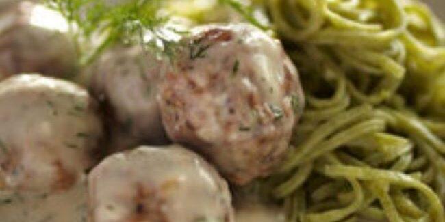 Polpette svedesi di carne alle Prugne della California