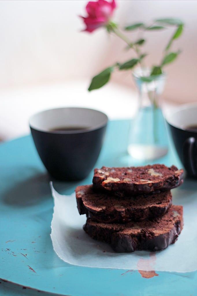 Prune & Chocolate Tea Bread with Benefits