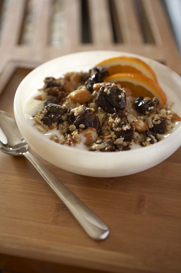 Bircher Muesli with California Prunes