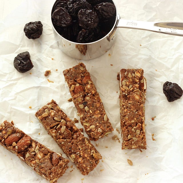 Sweet and savoury No Bake Prune Energy Bars