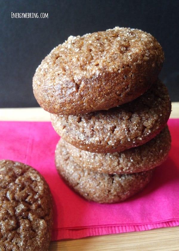 Ginger & Prune Cookies