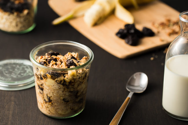 Overnight Soaked Oats