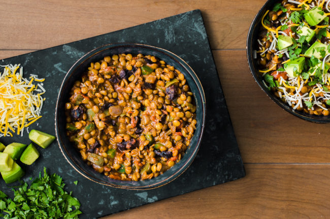 Spicy Lentil Chilli with California Prunes