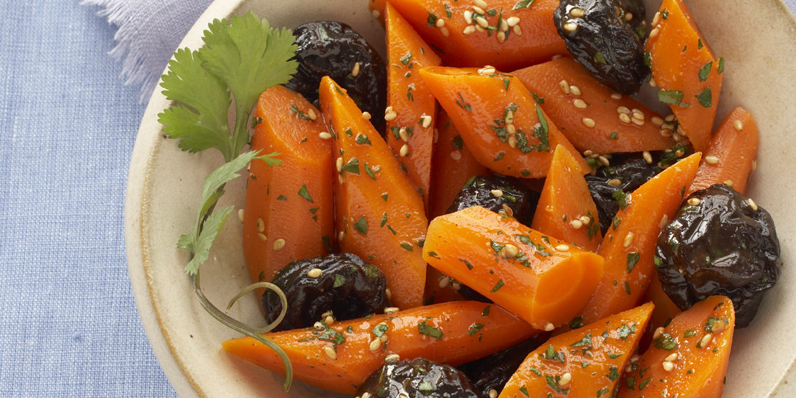 Carrot Salad with Prunes