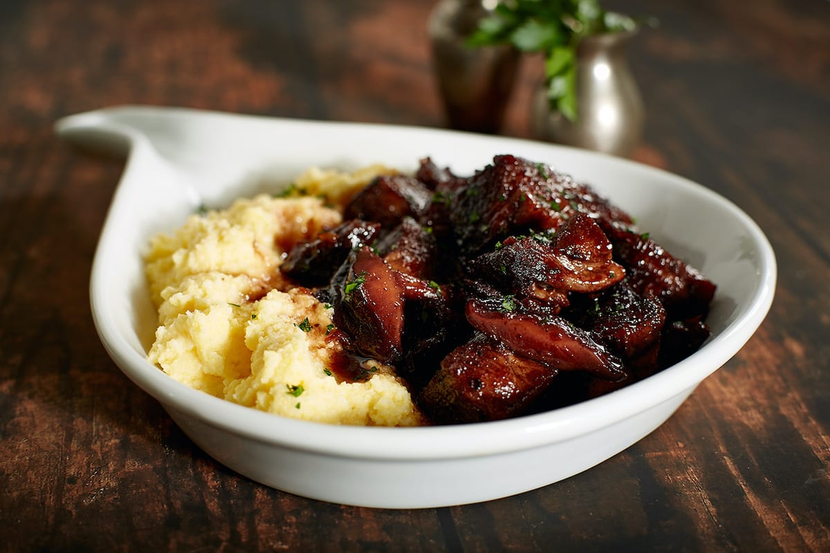 Pork Shoulder with  Prunes