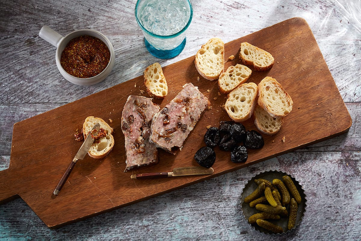 Sonoma Lamb and Prune Pate