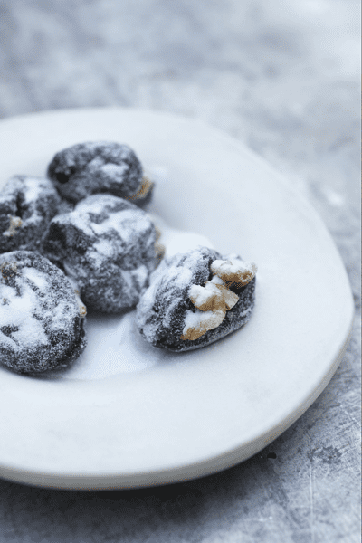Prunes Stuffed with Walnuts