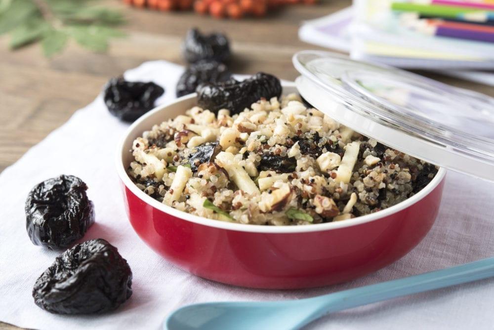 Insalata di quinoa e Prugne della California