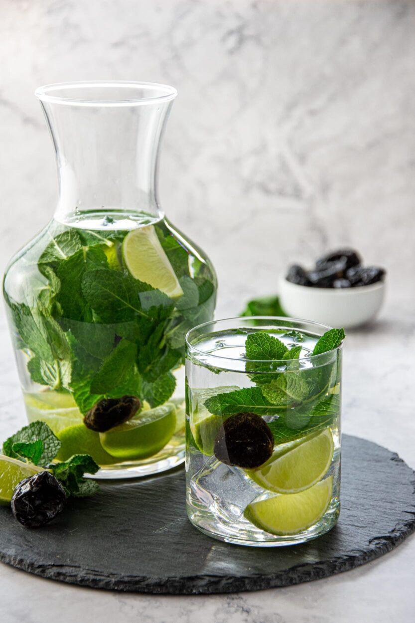 acqua aromatizzata Menta e lime