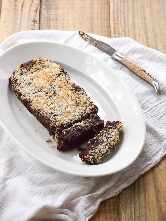 Flourless Sticky Chocolate & Prune Cake