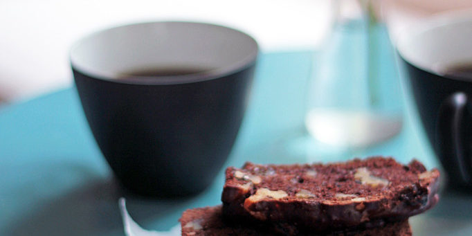 Prune & Chocolate Tea Bread with Benefits