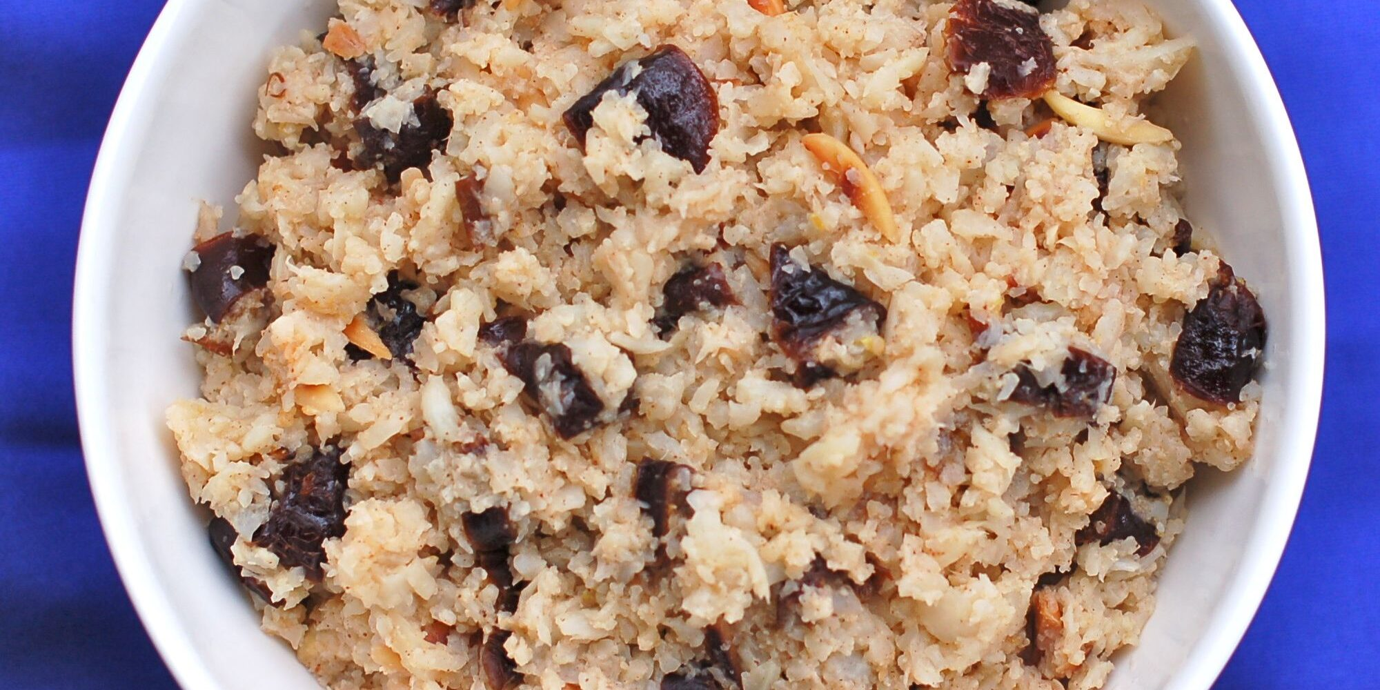 Spiced Prune Cauliflower Rice