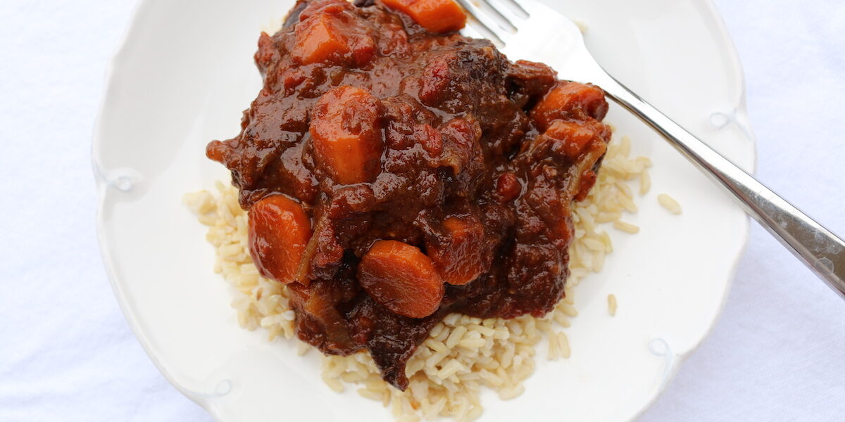 Moroccan Chicken with California Prunes