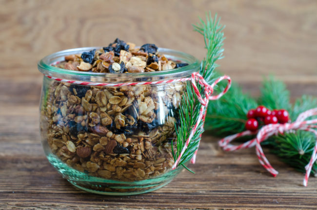 Christmas Granola with  California Prunes