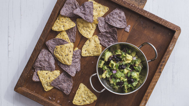 Guacamole with Poached California Prunes