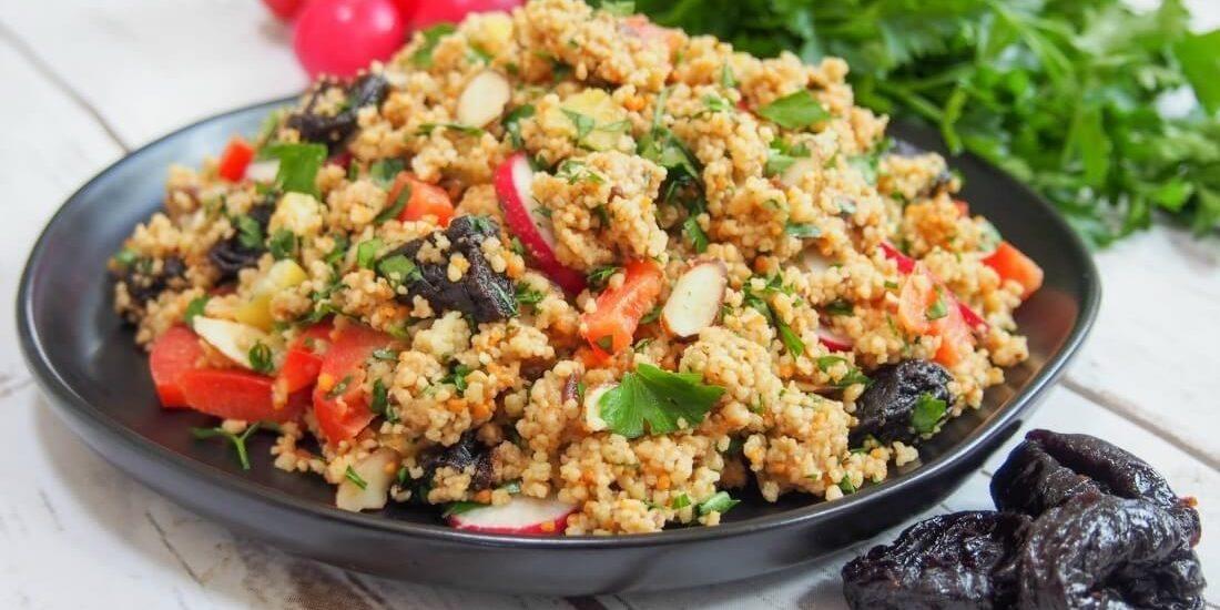 Couscous Salad with California Prune Vinaigrette