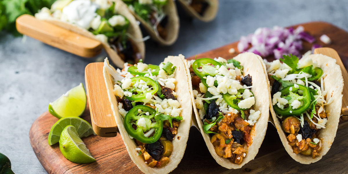 Turkey Tacos Picadillo with California Prunes