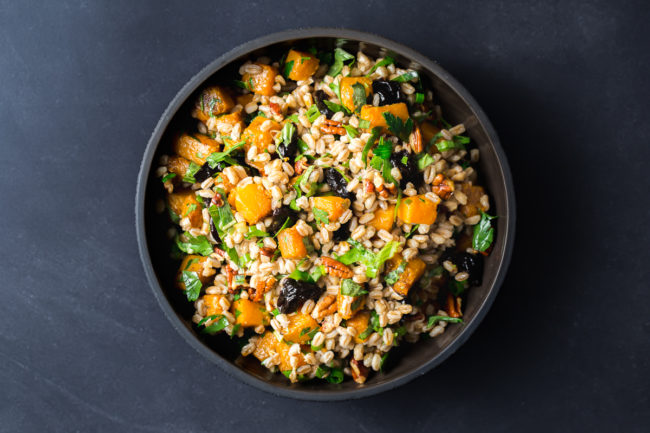 Farro with California Prunes