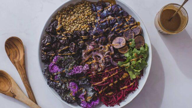 Purple Power of California Prunes